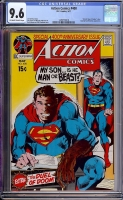 Action Comics #400 CGC 9.6 ow/w