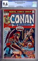Conan The Barbarian #23 CGC 9.6 w