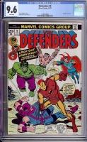 Defenders #9 CGC 9.6 w
