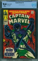 Captain Marvel #5 CBCS 9.4 w