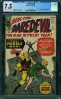 Daredevil #4 CGC 7.5 n/a
