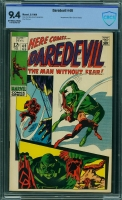 Daredevil #49 CBCS 9.4 ow/w