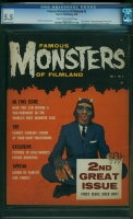 Famous Monsters of Filmland #2 CGC 5.5 cr/ow
