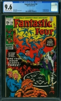 Fantastic Four #110 CGC 9.6 ow/w