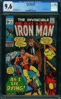 Iron Man #37 CGC 9.6 w