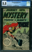 Journey Into Mystery #86 CGC 5.5 ow/w