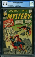 Journey Into Mystery #95 CGC 7.5 cr/ow