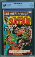 Marvel Spotlight #21 CBCS 9.8 w