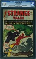 Strange Tales #109 CGC 8.5 cr/ow
