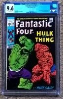 Fantastic Four #112 CGC 9.6 w