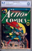 Action Comics #26 CBCS 8.5 cr/ow