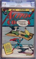 Action Comics #88 CGC 7.5 w