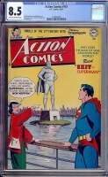 Action Comics #161 CGC 8.5 ow/w