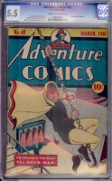 Adventure Comics #48 CGC 5.5 cr/ow
