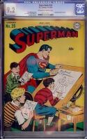 Superman #25 CGC 9.2 ow/w