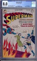 Superman #76 CGC 8.0 ow/w