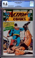Action Comics #372 CGC 9.6 ow/w