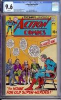 Action Comics #386 CGC 9.6 w
