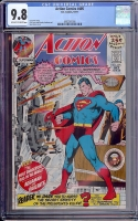 Action Comics #405 CGC 9.8 ow/w