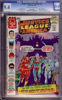 Justice League of America #97 CGC 9.4 ow/w
