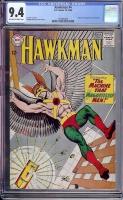 Hawkman #4 CGC 9.4 ow/w