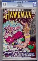 Hawkman #15 CGC 9.6 ow