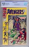 Avengers #47 CBCS 9.2 w
