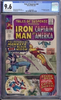 Tales of Suspense #64 CGC 9.6 ow/w