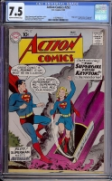 Action Comics #252 CGC 7.5 cr/ow