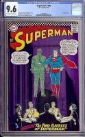 Superman #186 CGC 9.6 ow/w