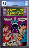 Adventure Comics #375 CGC 9.6 ow