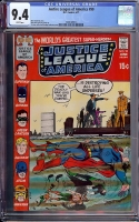 Justice League of America #90 CGC 9.4 w