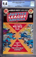 Justice League of America #108 CGC 9.4 w