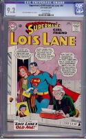 Superman's Girlfriend Lois Lane #40 CGC 9.2 ow