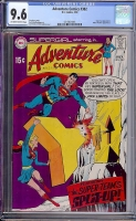 Adventure Comics #382 CGC 9.6 ow/w
