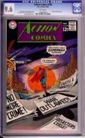 Action Comics #368 CGC 9.6 w