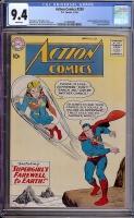 Action Comics #258 CGC 9.4 w