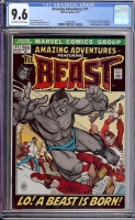 Amazing Adventures #11 CGC 9.6 ow/w