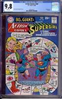 Action Comics #360 CGC 9.8 w