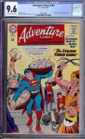 Adventure Comics #360 CGC 9.6 ow/w