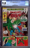 Amazing Spider-Man Annual #7 CGC 9.8 ow/w