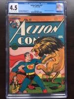 Action Comics #27 CGC 4.5 ow/w