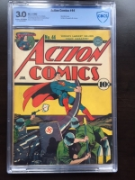 Action Comics #44 CBCS 3.0 cr/w
