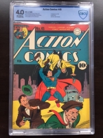 Action Comics #45 CBCS 4.0 ow