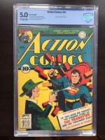 Action Comics #51 CBCS 5.0 ow/w