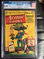 Action Comics #151 CGC 5.0 cr/ow