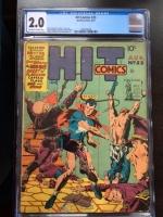 Hit Comics #23 CGC 2.0 ow/w