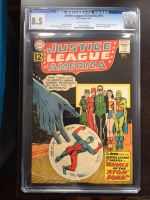 Justice League of America #14 CGC 8.5 ow
