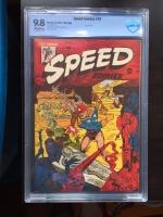 Speed Comics #42 CBCS 9.8 ow File Copy