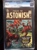 Tales to Astonish #29 CGC 4.5 cr/ow